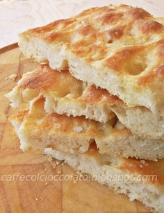 la focaccia genovese from Liguria #italianfood