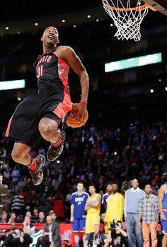 All-Star Weekend notes: NBA union fires Hunter Basketball History, Basketball Players, Sports Teams, Toronto Raptors, Nba Slam Dunk Contest, But Football, Kobe Lebron, American Sports, American Art