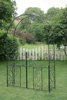 Captivating #Artistic Western Wedding Arches, #Kensington Metal Garden Arch With Bench