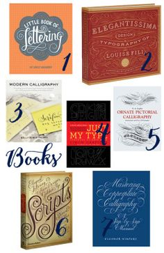 Book Suggestions for your favorite Calligraphy/Lettering/Design nerd