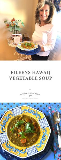 This Jewish Food Hero Community Recipe is Eileen's Hawaij Vegetable Soup. This is a Mediterrenean inspired, Yemeni spiced soup, packed with satiating squash and potato. Best Lunch Recipes, Vegetarian Recipes Dinner, Vegan Dinners, Vegan Recipes Easy, Finger Food Appetizers, Vegan Appetizers, Red Bliss Potatoes, Jewish Food, Beautiful Soup