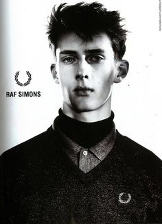 Raf Simons for Fred Perry Fall-Winter 2009 Ad Campaign Ad Fashion, Fashion Killa, The Good Dr, Art Commerce, Fashion Advertising, Youth Culture, Boy London, Raf Simons, Fred Perry