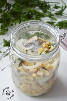 Mason Jars, Cooking Recipes, Fish, Kielbasa, Chef Recipes, Pisces, Mason Jar, Recipies