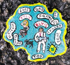 Ben Wilson's art on chewing gum, in RV55. http://www.rawvision.com/articles/art-chewing-gum-ben-wilson