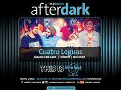 """Cresta Metálica Producciones » Hard Rock Café presenta: """"AFTERDARK con Cuatro Leguas"""" (Caracas) // 4 Abril 2015"""