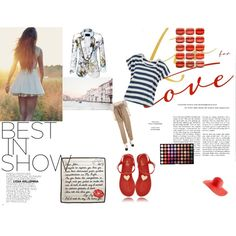 Love, created by christina-chrysandrea on Polyvore
