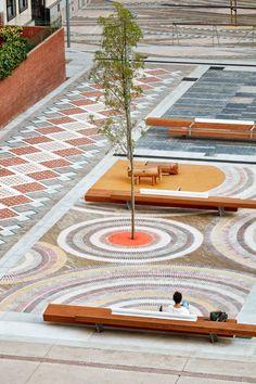 Mamen Domingo i Ernest Ferré, Jordi Surroca, Marc Méndez · PENEDÈS SQUARE #urbanlandscapearchitecture
