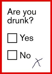 Funny greeting card by Kiss me Kwik - Are you drunk?   Comedy Card Company   Funny Birthday Cards   Humorous Cards