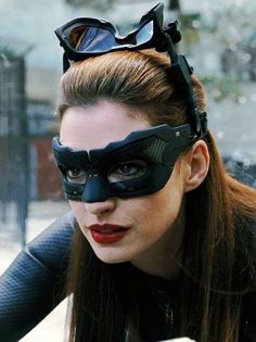 Catwoman - Anne Hathaway from Dark Knight Rises.