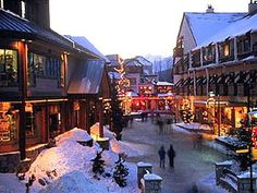 Whistler, British Columbia. Home of pre and post olympic Games in 2010. May2010.
