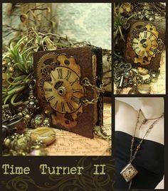 what's better than a handmade book?  a handmade book necklace!