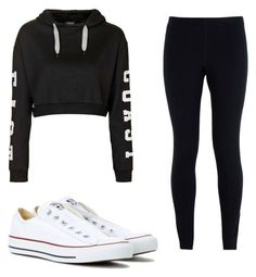 """Untitled #32"" by ashariacalmes133 on Polyvore featuring Topshop, NIKE and Converse"