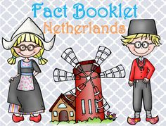This fact booklet on the Netherlands is a great resource to use for a research project on countries around the world/Europe with your pre-k/kindergarten class. Included in this product is a black and white informational book about the Netherland that can be used for independent reading as well as for guided reading groups.