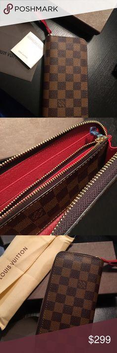 LV wallet Best quality of lv wallet, red interior unique design Louis Vuitton Bags Wallets