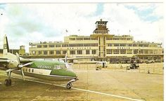 Dublin Airport, Dublin City, Old Pictures, Old Photos, Ireland Landscape, Sea Waves, Air Travel, Dublin Ireland, The Good Old Days