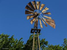 https://flic.kr/p/GcSm6P | Old Style | Old style windmill in Oklahoma.