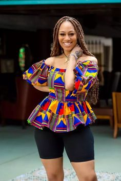 How To Rock Unique Ankara Style blouse 2020 For African Ladies African Maxi Dresses, Latest African Fashion Dresses, African Print Fashion, African Attire, African Wear, African Prints, Unique Ankara Styles, Latest Ankara Styles, African Tops For Women