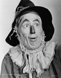 An original publicity handout of Ray Bolger who played the Scarecrow in the movie The Wizard of Oz, 1939.