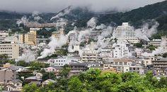 Thành phố nhỏ Beppu – Hỏa Diệm Sơn ở Nhật Bản