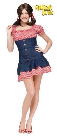 Gilligan s Island Mary Ann Women s Costume b33dd92fee0