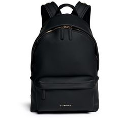 Givenchy Rubberised leather backpack found on Polyvore