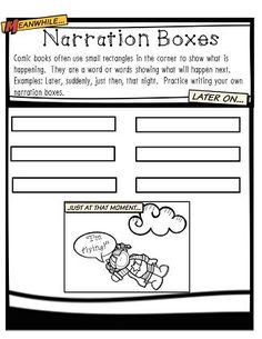Are you looking for a fun and creative way to teach your students the writing process? Kids love comics and this product will allow them to show their writing skills in a fun way. They will begin with brainstorming and then go on to writing drafts for the comic book.  $