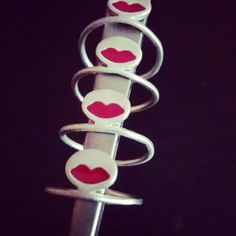 925 silver ring Bonjour Madame
