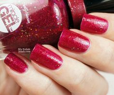 Sally Hansen Miracle Gel- Ruby Shimmers
