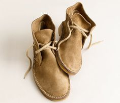 The one shoe every man should own. J Crew Macalister suede desert boots. $135