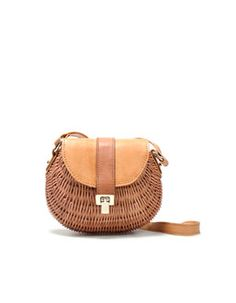 girl's basket purse
