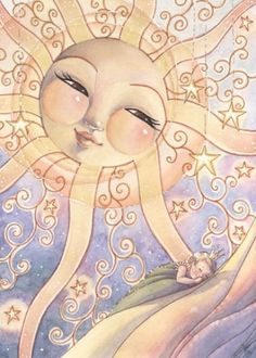 A Garden Prayer for Litha If you're planting a garden this year, you may already have plants in the ground by the time Litha rolls around. Don't worry, you can still offer up thi… Sun Moon Stars, Sun And Stars, Illustrations, Illustration Art, Good Day Sunshine, Sun Designs, Sun Art, Moon Child, Fantasy Art