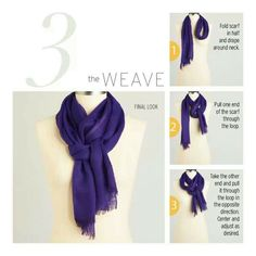 The weave and 12 other ways to wear scarves