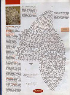 Lace oval napkin