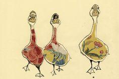 Anna Wright | Shop | Prints | birds