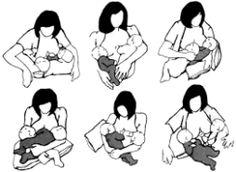 posturas amamantar mellizos