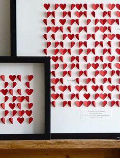 Valentine's wall - cuadro San Valentin