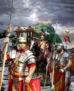 Roman army during The Dacian War - Imagen Rome History, Ancient History, Imperial Legion, Fall Of Constantinople, Rome Antique, Roman Legion, Greek Warrior, Man Of War, Medieval World