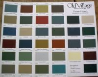 Old Village paint colors
