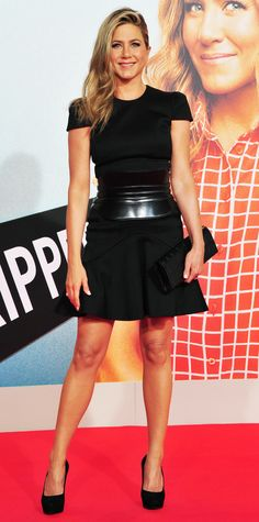 The We Are the Millers star wore Alexander McQueen to the film's Berlin premiere.