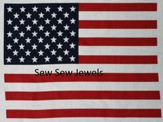 American Flag*Panel* by HopesJewels on Etsy
