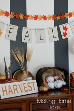 Fall Vignette on the