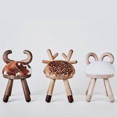 (made from faux skin) Gift Guide, Cow, Chair, Kids, Animals, Home Decor, Young Children, Children, Animaux