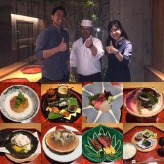 Kaiseki at Ishibekoji KAMIKURA - one of the best meals we've ever had  #kyoto #kaiseki #nomnomnom #somefoodnotpictured #oishi #wehadthewholerestauranttoourselves #ishibekojikamikura #chefyoshihiko #otoro #clam #meringuesoup #kyotobeef #clamtwoways #sushi #garlicchips #seagrapes #roe #sashimi #nofilter #長毛蟹 #懐石料理 #京都 #石塀小路かみくら by alice__wawa