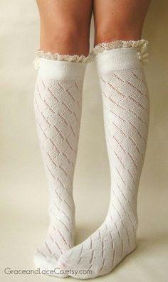 Cute boot socks