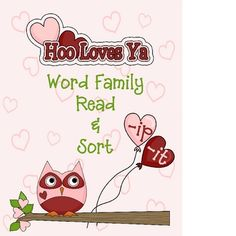 FREE This Valentines Day themed small group or independent activity will reinforce the understanding of -ip and -it word families.  Students will read a...