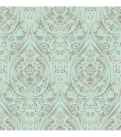 WallPops® NuWallpaper™ Nomad Damask Peel and Stick Wallpaper