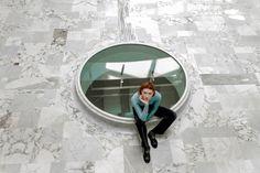 Marina Eric, Graduation Work, Location Studio di Architettura Scacchetti Associati, Milan, Model Agata Cwalina, 2016.