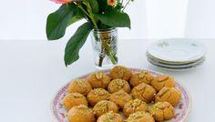 Sekerpare- Turkiska mannagrynskakor
