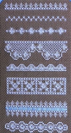 Beautiful embroidery on evenly woven linen - . Beautiful embroidery on evenly woven linen – # smoothly Hardanger Embroidery, Learn Embroidery, Hand Embroidery Stitches, Embroidery Techniques, Ribbon Embroidery, Cross Stitch Embroidery, Embroidery Patterns, Butterfly Embroidery, Modern Embroidery