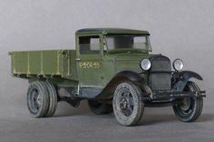 Used #MiniArt's Kit: 35124 GAZ-AA CARGO TRUCK 1.5t TRUCK http://miniart-models.com/35124.htm Modeller: Dmitry Surnin Source: http://karopka.ru/community/user/7898/?MODEL=315723